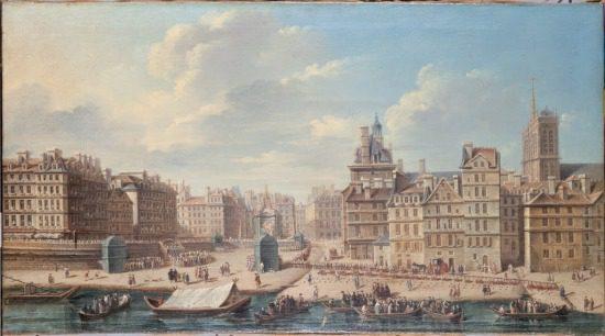 historic image Seine