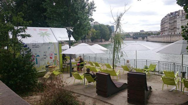 Paris Plage Chairs