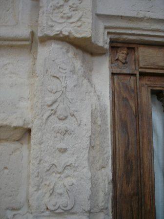 worn down stone