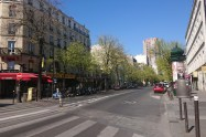 Paris street Avenue de Choisy