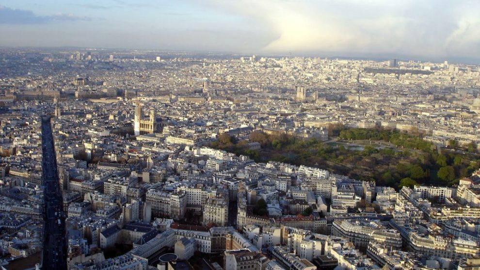 Paris aerial