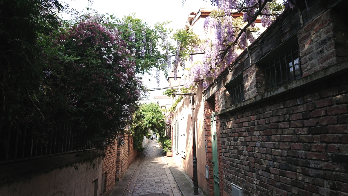 flowered passage