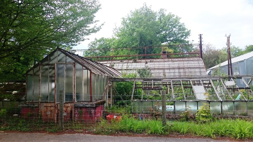 old greenhouses