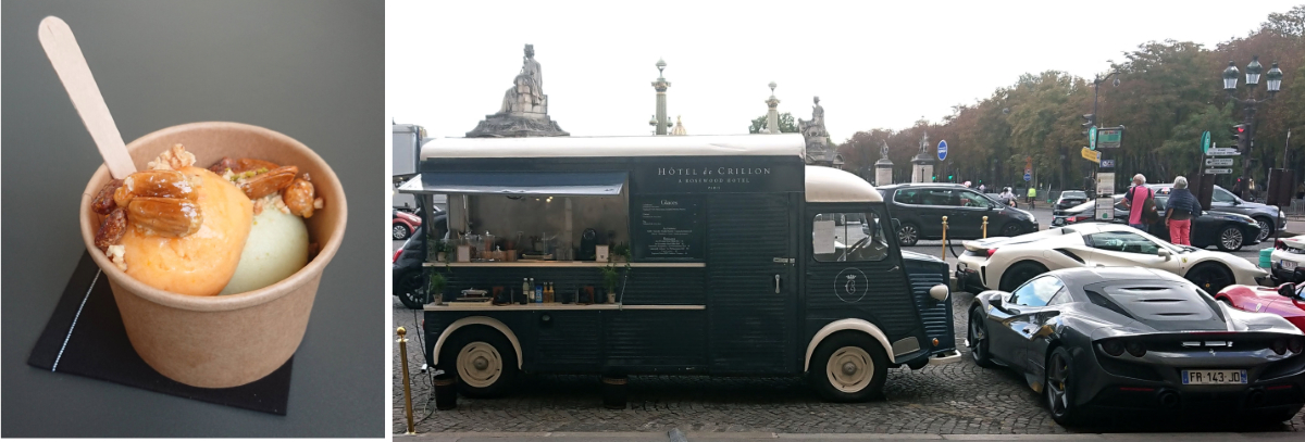 Crillon Ice Cream Truck
