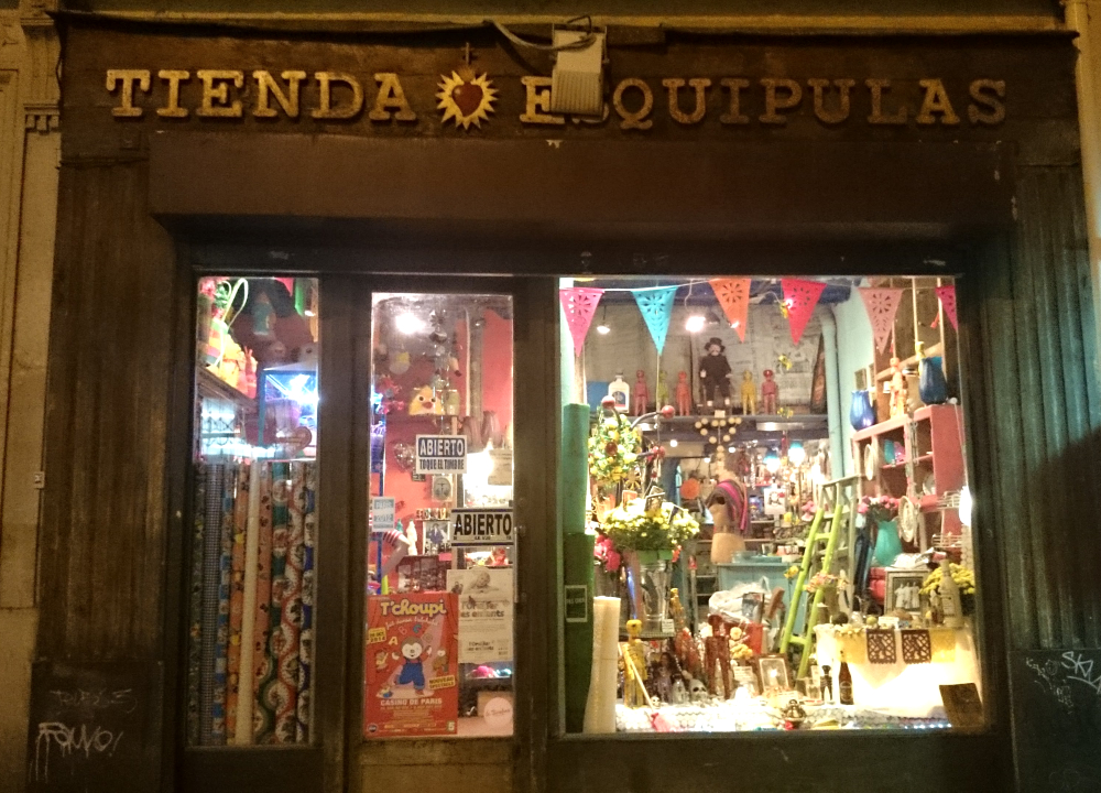 Mexican boutique facade