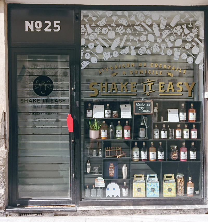 Shake it East Store front