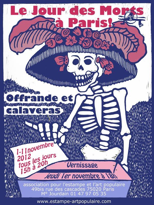 Jour des Morts à Paris poster
