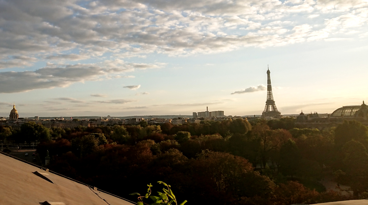 Eiffel Tower skyline
