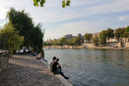 view of Paris Seine