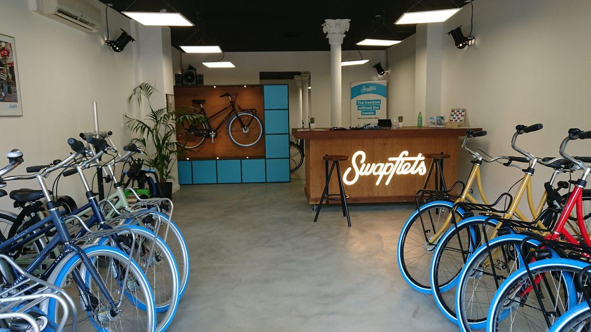 Swapfiets bike shop