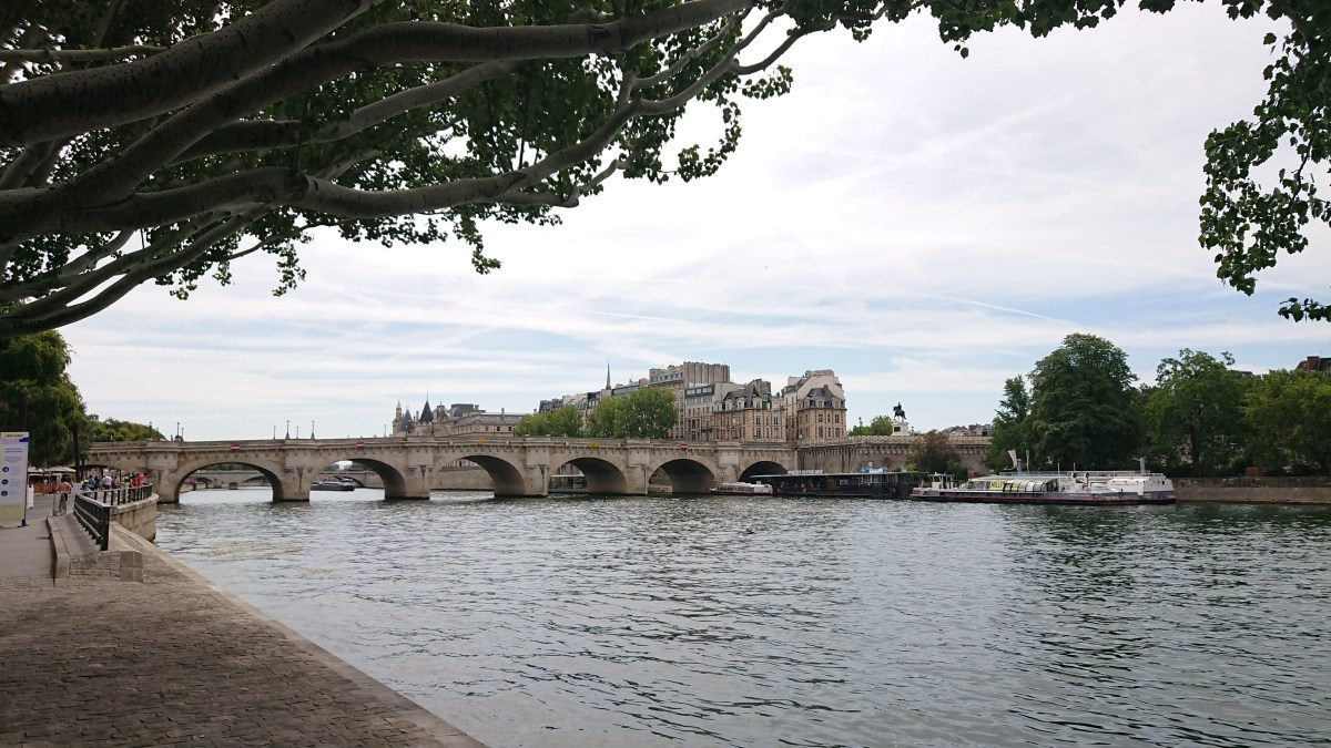 Pont Neuf and the Square du Vert Galant