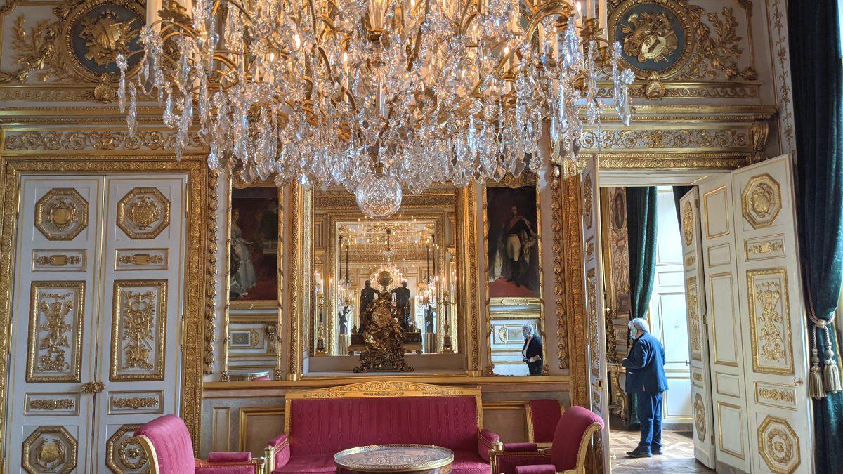 Gilded interior