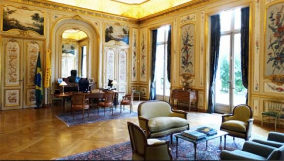 Brazilian embassy - Hôtel Schneider