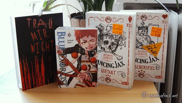 """Neuzugänge #37 (oder: """"4 Büchern, 1 Gutschein und 15 Euro"""")"""