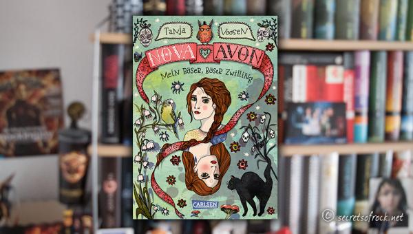 """Tanja Voosen: """"Nova und Avon: Mein böser, böser Zwilling"""" (Band 1)"""