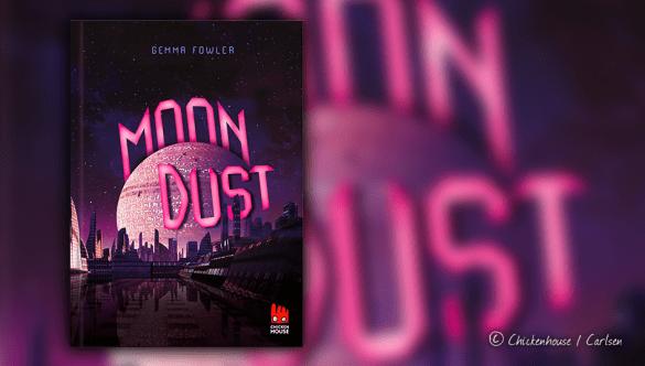 Buchcover und Titelbild von Gemma Fowler Moondust