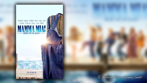Titelbild zur Rezension von Mamma Mia – Here we go again