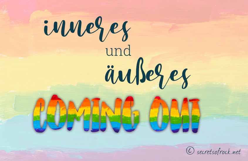 Inneres und Äusseres Coming Out