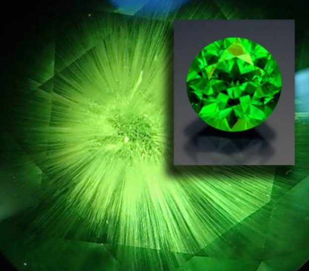 New Chapter:  Demantoid Garnet