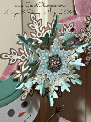 Festive Flurry Wreath Snowflake