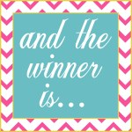 February Blog Candy Giveaway Winner Announcement!