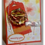 Elegant and Easy Scallop Tag Topper Punch
