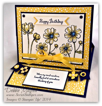 Bloom with Hope, A Dozen Thoughts, Easel Card