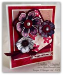 By Debbie Mageed, Flower Shop, Petite Petals, Umbre, Itty Bitty Banners, Birthday