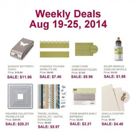 Weekly Deal August 19