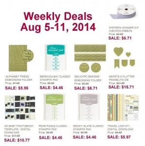Weekly Deal August 5