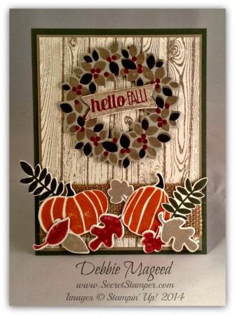 Wondrous Wreath, Fall Fest, For All Things, Hardwood