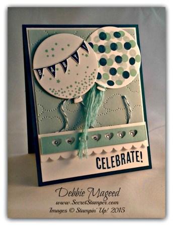 Balloon Framelits, Celebrate Today