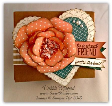Bouquet Bigz L Die, Simply Wonderful, Takeout Box