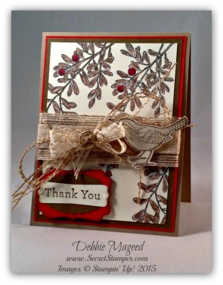 Stampin' with An Open Heart