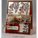By Debbie Mageed, An Open Heart, Stampin Up