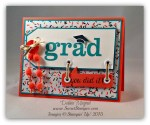 By Debbie Mageed, Bravo, Great Grads, Word Bubbles, Stampin Up