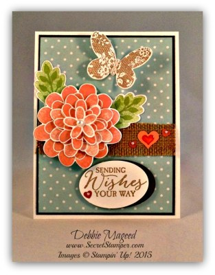 Flower Patch Loves Butterfly Basics for the Paper Players