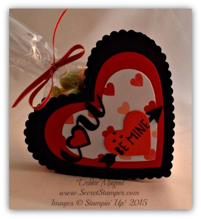 Valentine, Gift Box, You Plus Me, Label Card Thinlits, Stacked with Love, Hearts Framelits 2