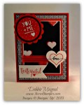 By Debbie Mageed, You Plus Me, Valentine, Stacked with Love, Stampin Up