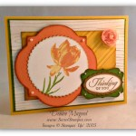 By Debbie Mageed, Lotus Blossom, Wetlands, Build a Bouquet, Stampin Up