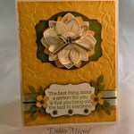 By Debbie Mageed, Petal Potpourri, World of Dreams, Stampin Up