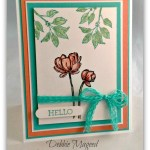 By Debbie Mageed, Bloom with Hope, Stampin Up