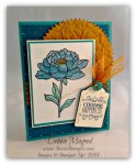 By Debbie Mageed, You've Got This, Choose Happiness, Bohemian DSP, Stampin Up