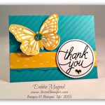By Debbie Mageed, Tin of Cards, Butterflies, Stampin Up