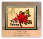 By Debbie Mageed, Remarkable You, Tin of Cards, Papillon Potpourri, Stampin Up