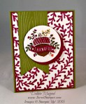 By Debbie Mageed, Acorny Thank You, Into the Woods, Stampin Up