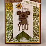 By Debbie Mageed, Kind Koala, Sheltering Tree, Happy Happenings, Stampin Up