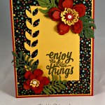 By Debbie Mageed, Botanical Blooms, Enjoy the Little Things, Stampin Up