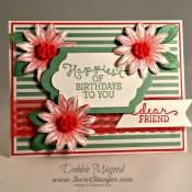 Birthday Blooms a Grateful Bunch