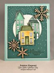 By Debbie Mageed, Holiday Home, Bloomin Marvelous, Stampin Up